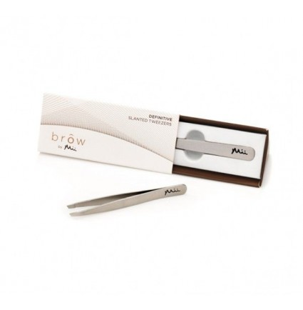 BROW BY MII DEFINITIVE SLANTED TWEEZERS - PINCETE UZACĪM