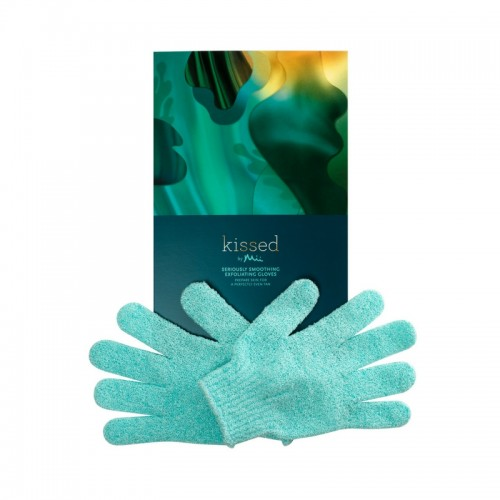 KISSED BY MII SERIOUSLY SMOOTHING EXFOLIATING GLOVES - ĶERMEŅA PĪLINGA CIMDI