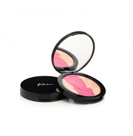MII DREAMY DUO CHEEK COLOUR SWEETHEART 01 - VAIGU SĀRTUMS (10G)
