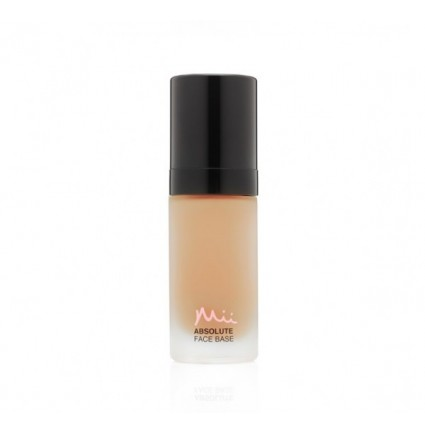 MII ABSOLUTE FACE BASE UTTERLY HONEY 03 - TONĀLIE KRĒMI (30ML)