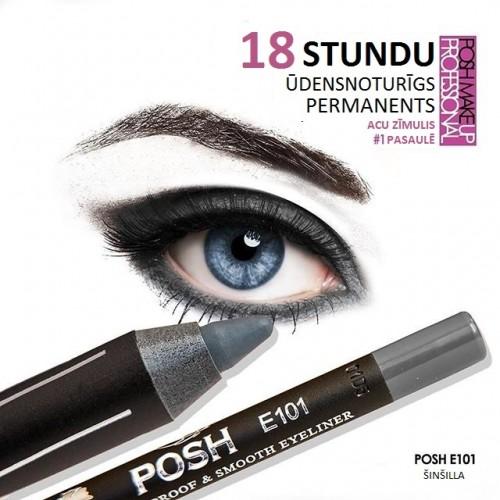 "POSH 18H ŪDENSNOTURĪGS PERMANENTS ""ŠINŠILA"" E101"